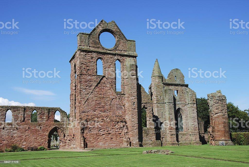 Arbroath Abbey stock photo