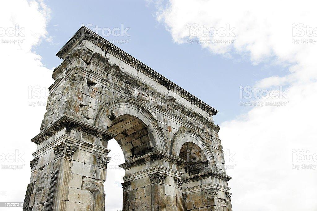 Arc de Germanicus, Saintes royalty-free stock photo