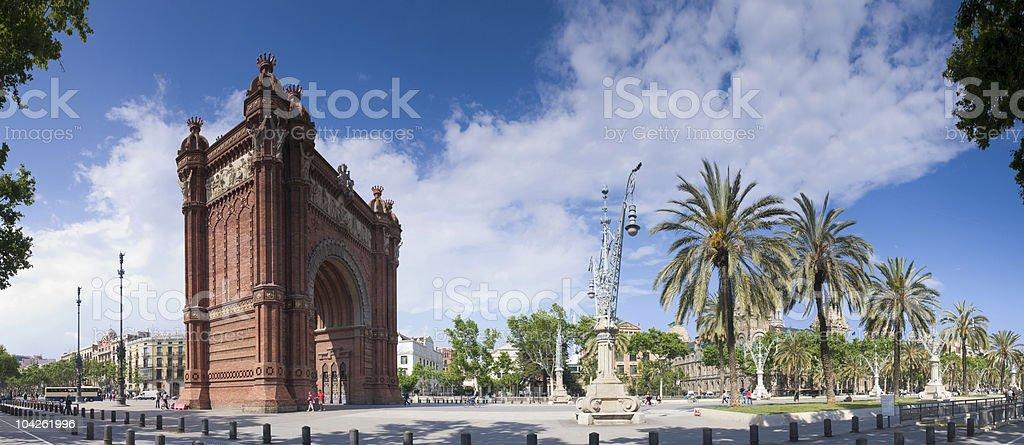 Arc de Triomf - Barcelona royalty-free stock photo