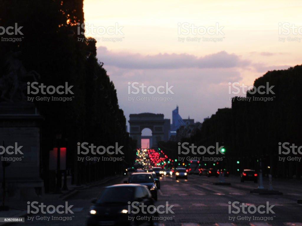 Arc de Triomphe du Carrousel, Paris, France stock photo