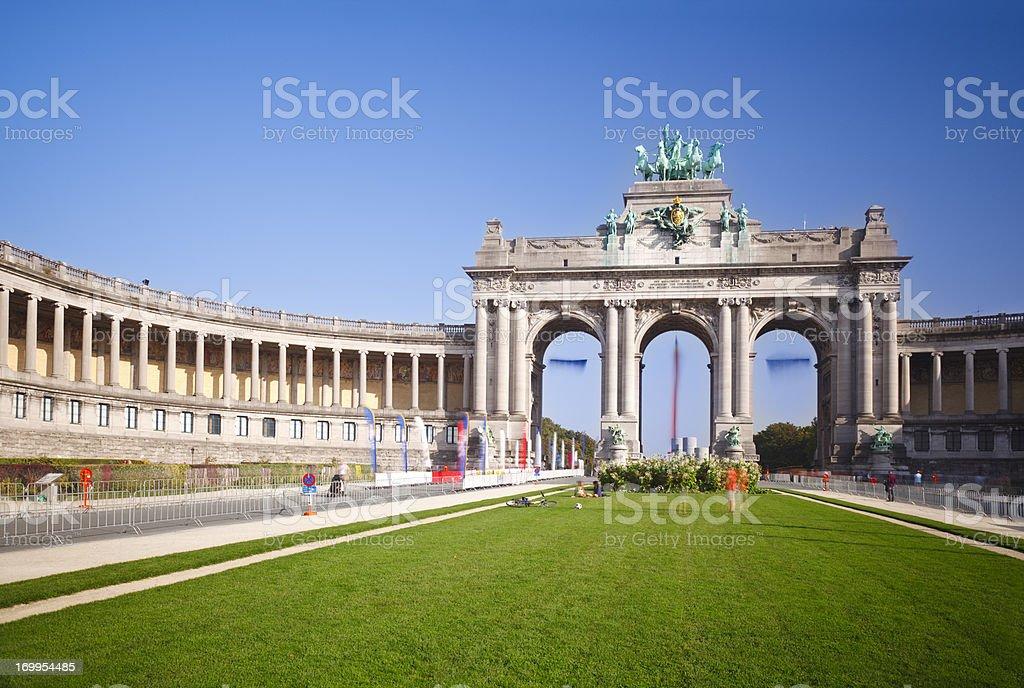 Arc de Triomphe In Brussels, Belgium stock photo
