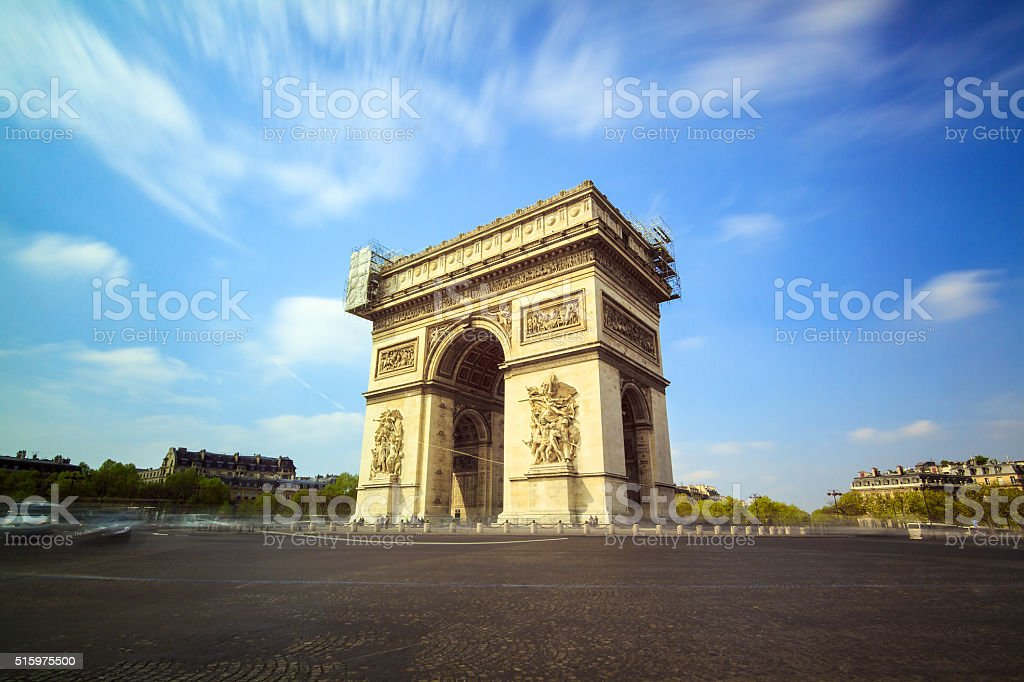 Arc de Triomphe LE stock photo