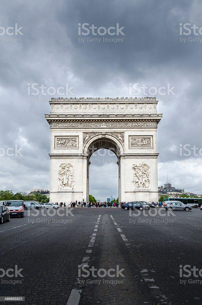 Arc de Triumph stock photo