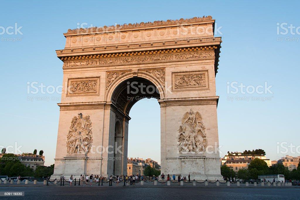 Arc de Triumphe stock photo
