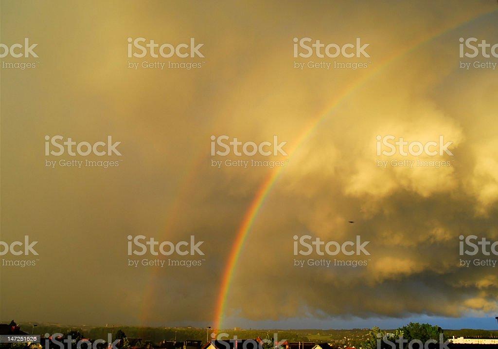 Arc en ciel royalty-free stock photo