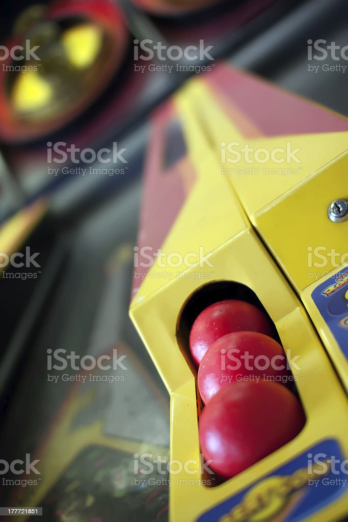 arcade ball game royalty-free stock photo
