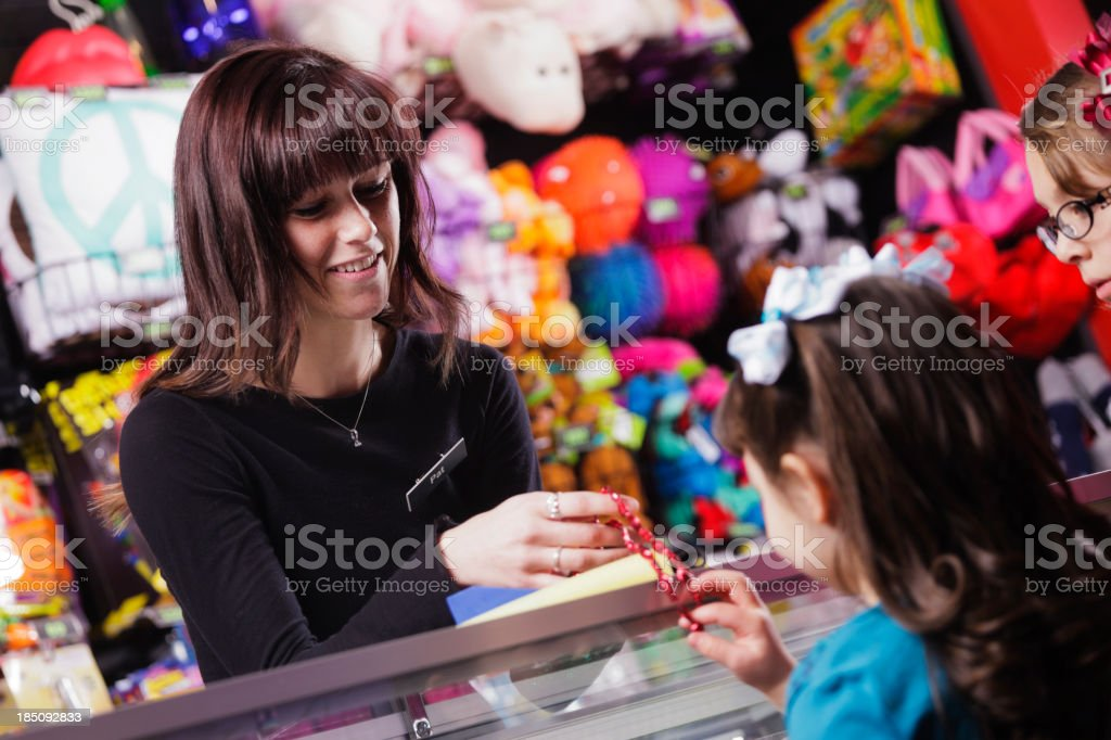 Arcade Employee stock photo
