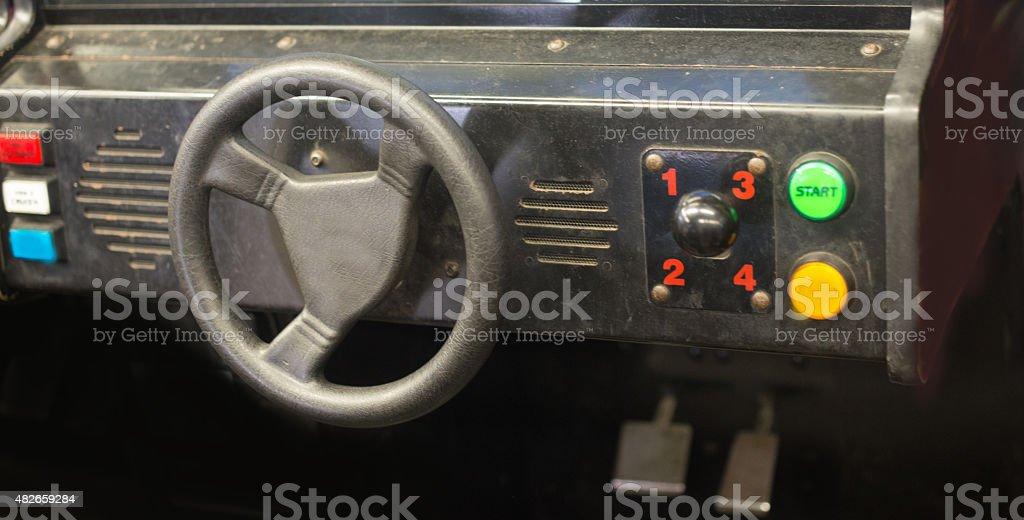 arcade game stock photo