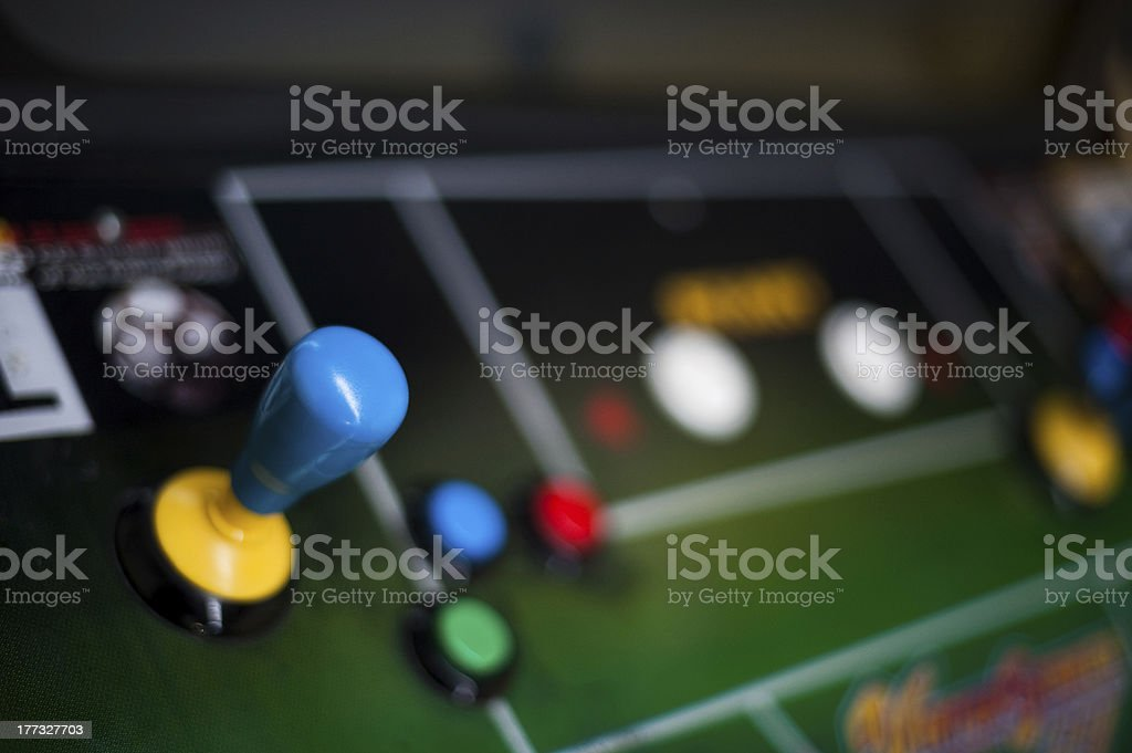 Arcade Joystick stock photo