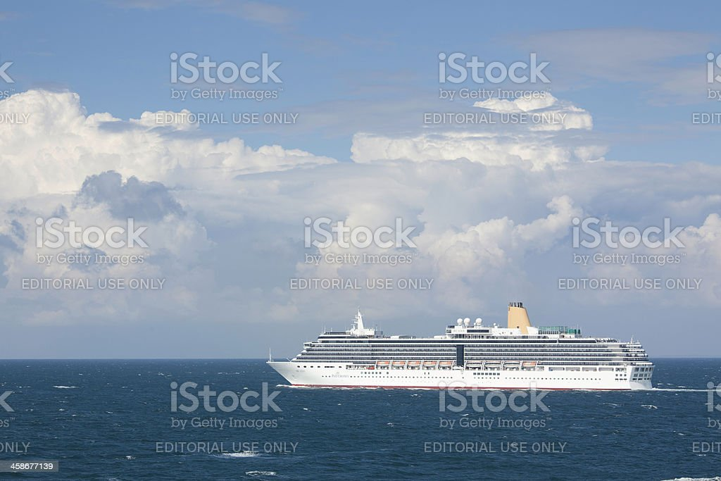 Arcadia at sea stock photo