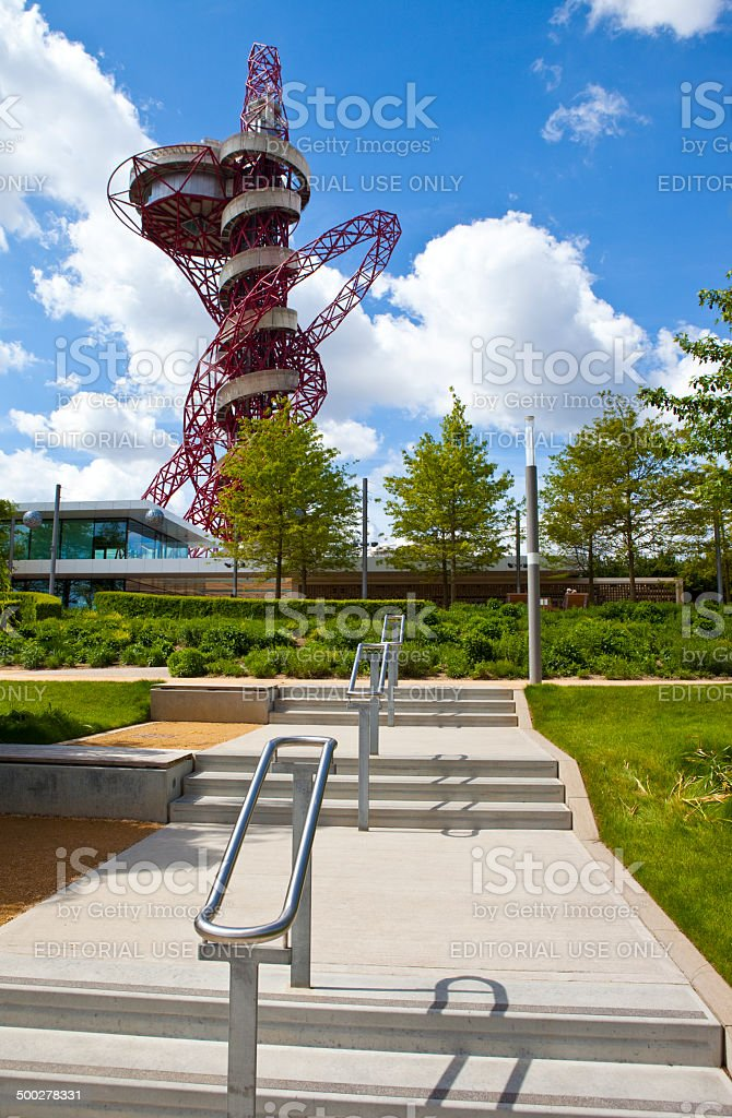 ArcelorMittal Observation Tower stock photo