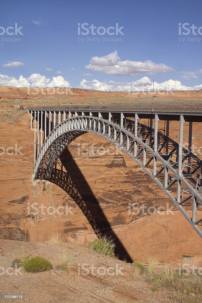 Arch Bridge royalty-free stock photo