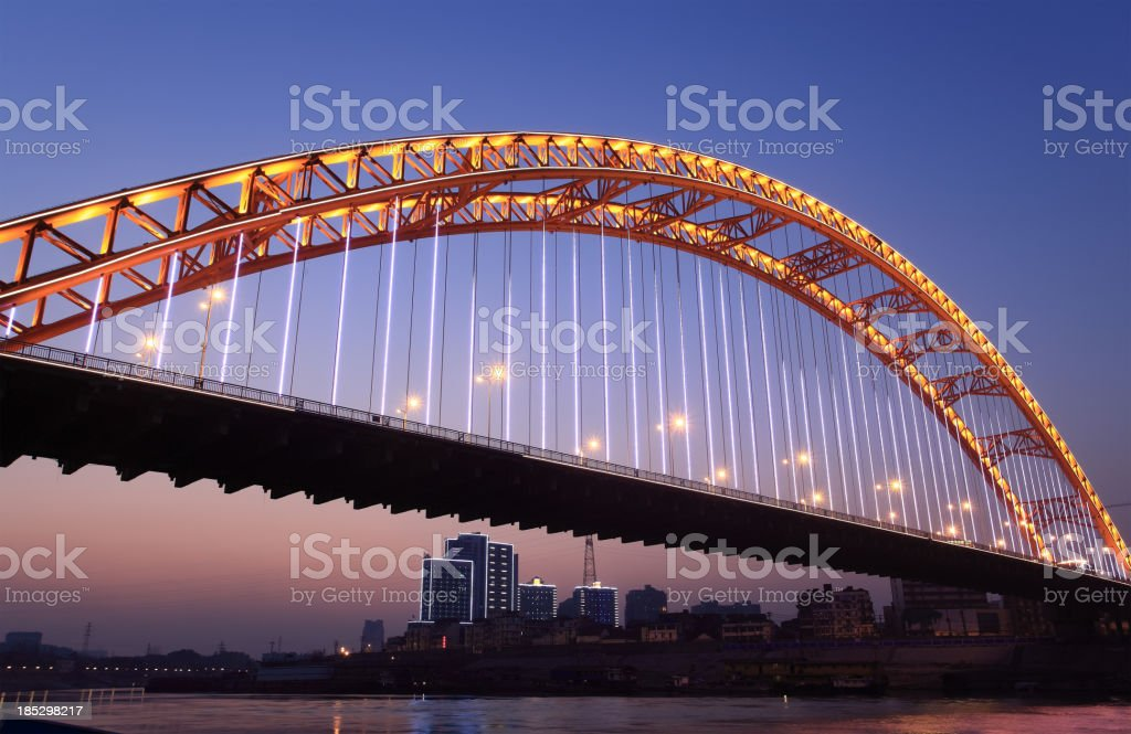 Arch bridge royalty-free stock photo