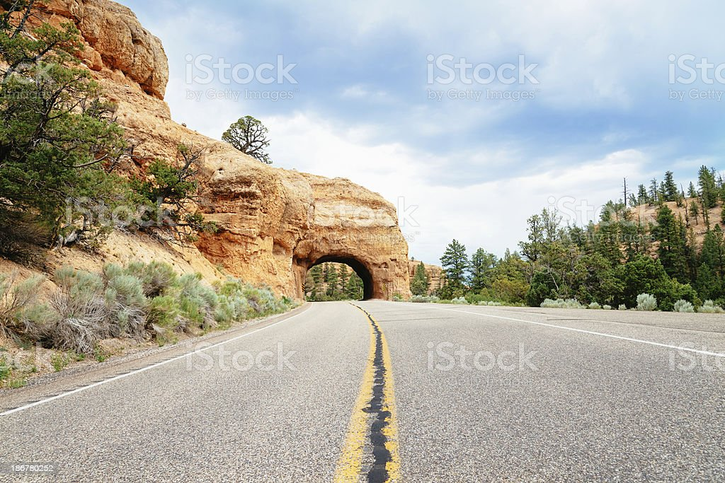 Arch Bryce Canyon National Park USA royalty-free stock photo
