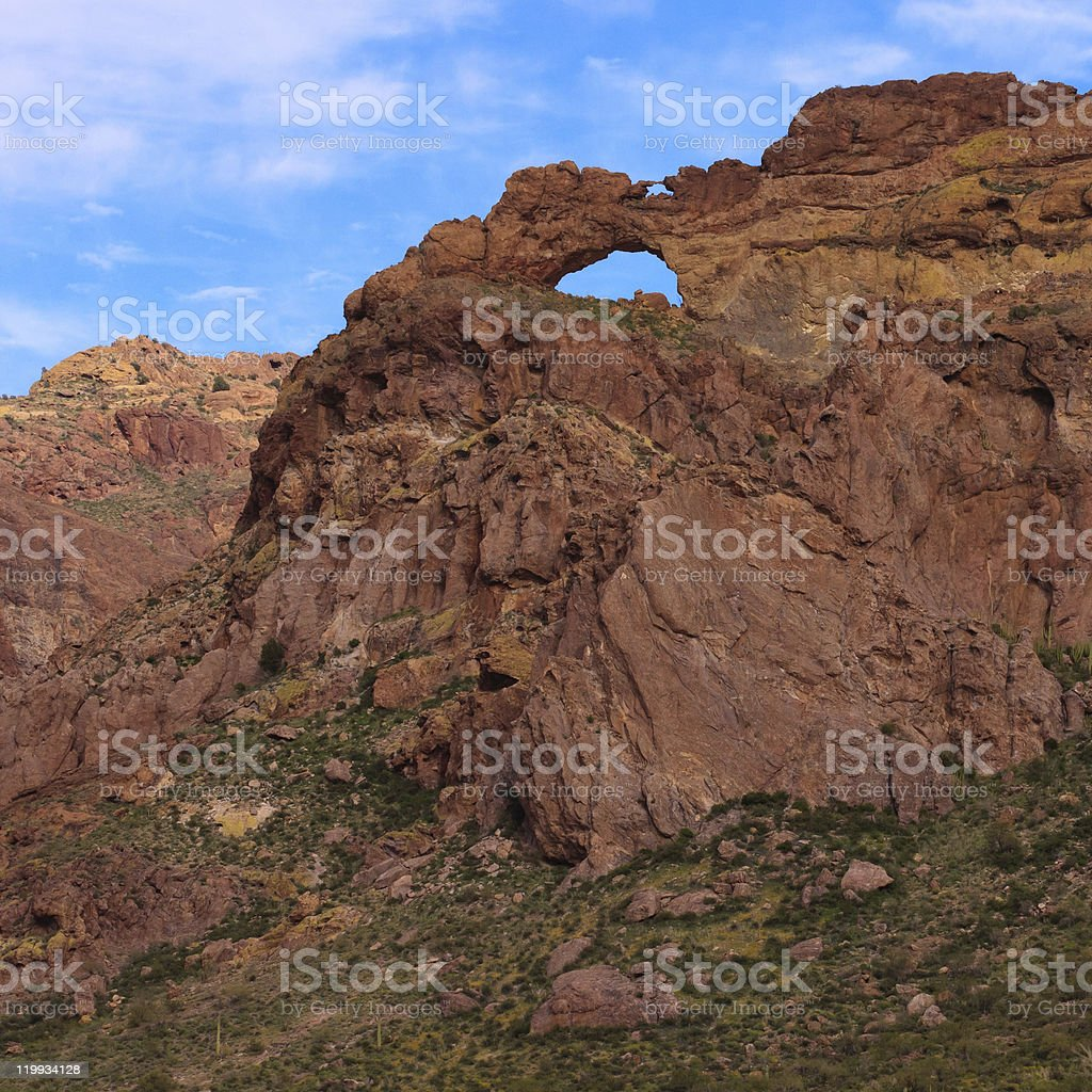 Arch Canyon Arches royalty-free stock photo