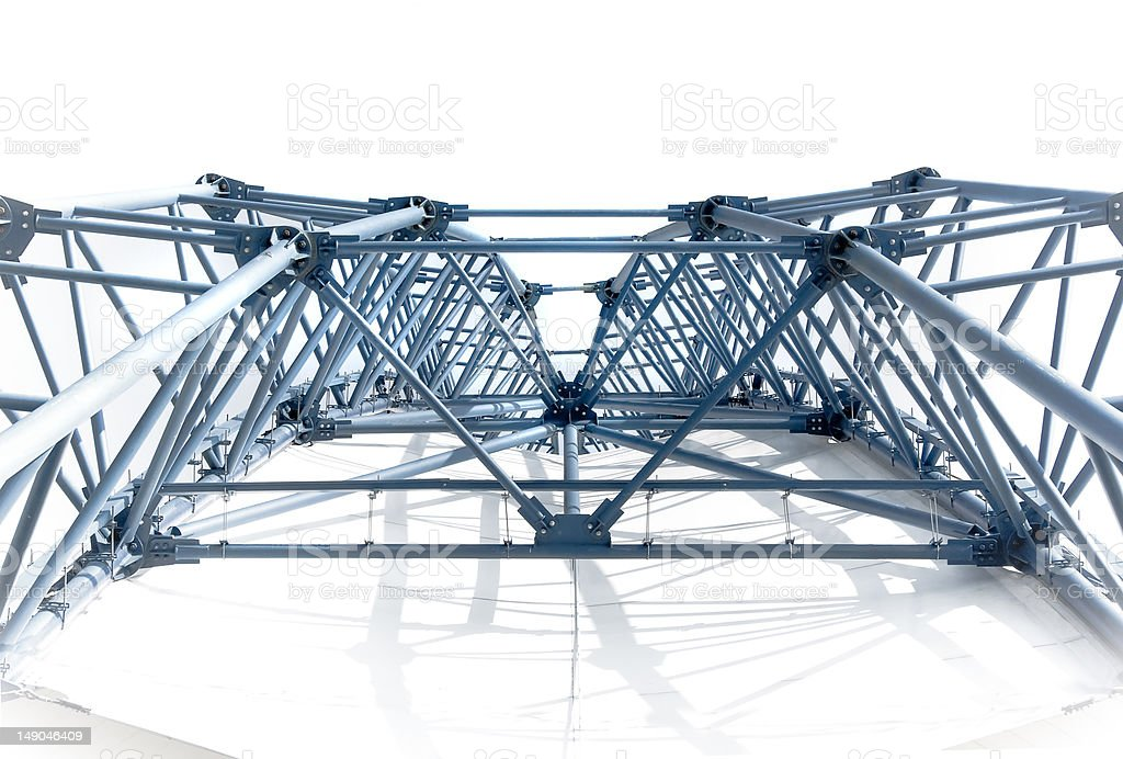 Arch construction royalty-free stock photo