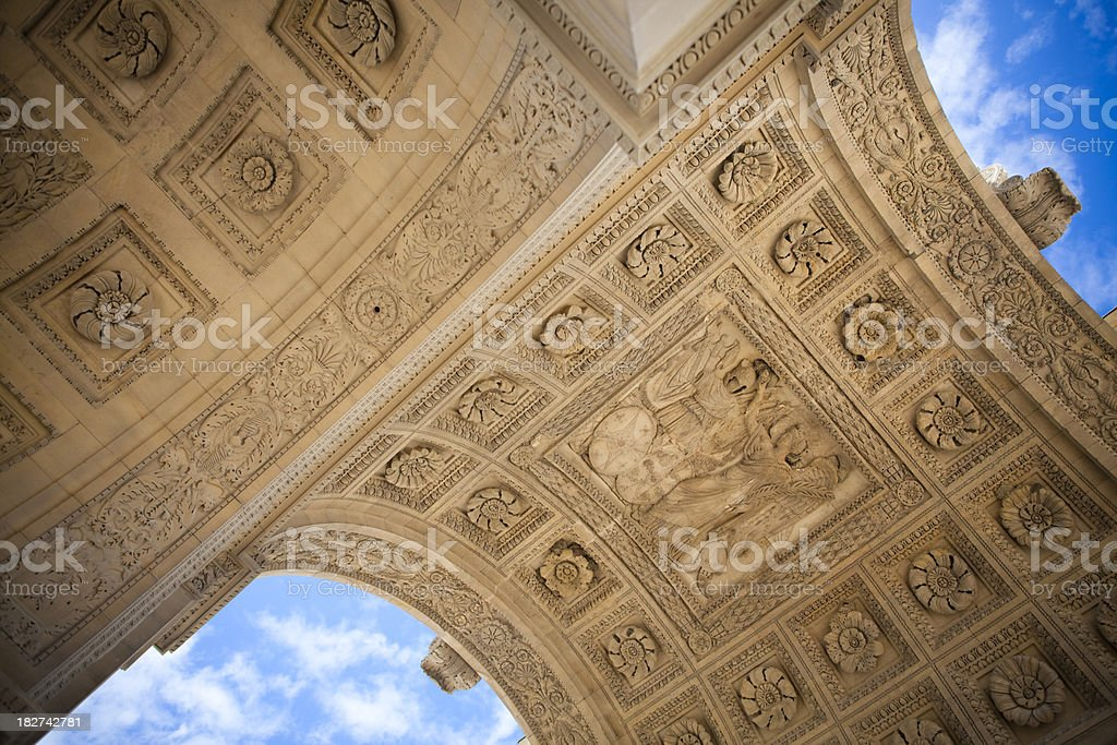 arch detail stock photo