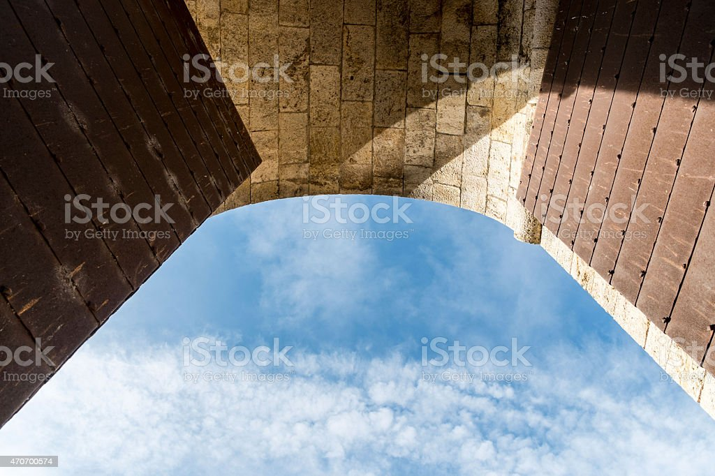 arch detail royalty-free stock photo