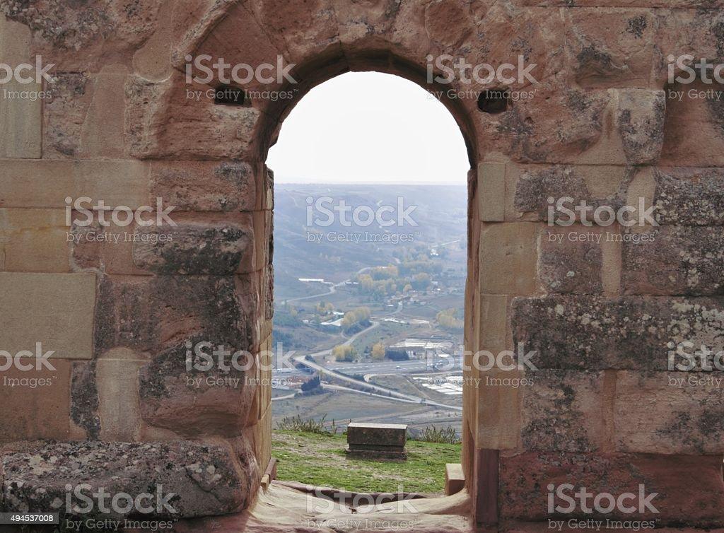 Arch Medinaceli, Soria, stock photo