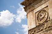 Arch of Constantine detail