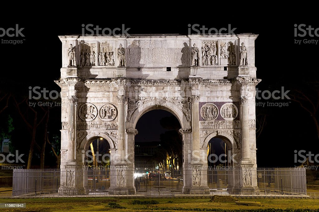 Arco di Costantino royalty-free stock photo