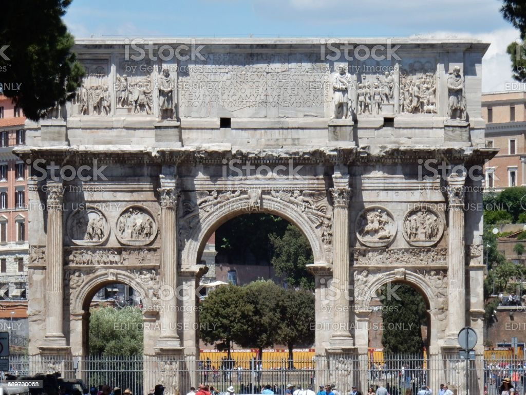 Arco di Costantino stock photo