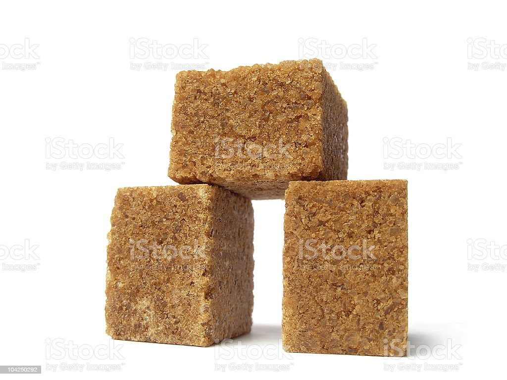 arch of sugar cubes stock photo