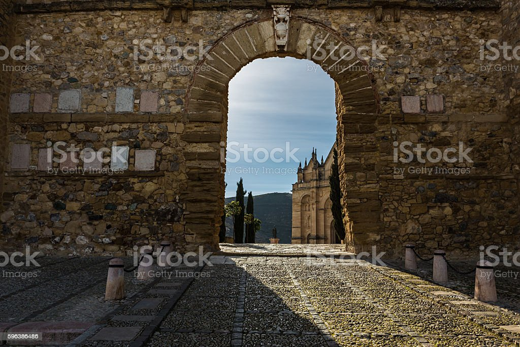 Arco de los Gigantes stock photo