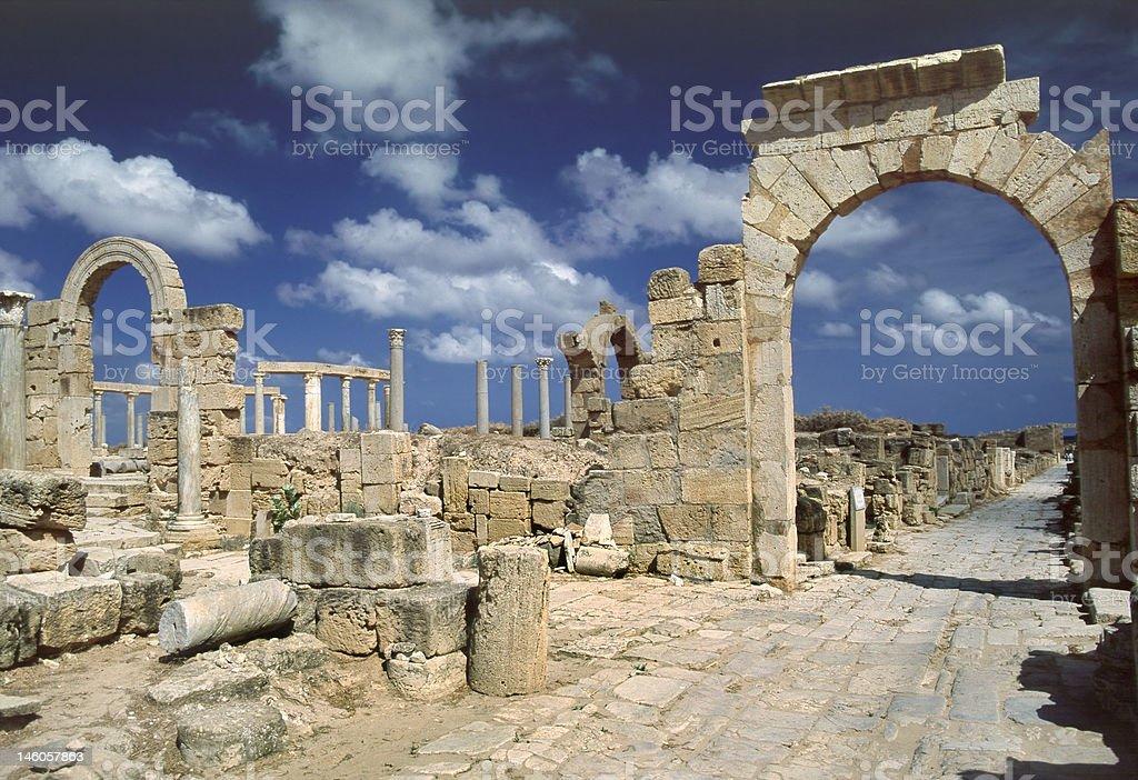 Arch of Tiberius stock photo