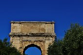 Arch of Titus  81 A.D.