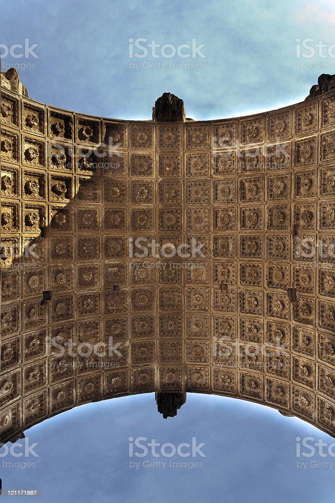 Arch of Titus stock photo