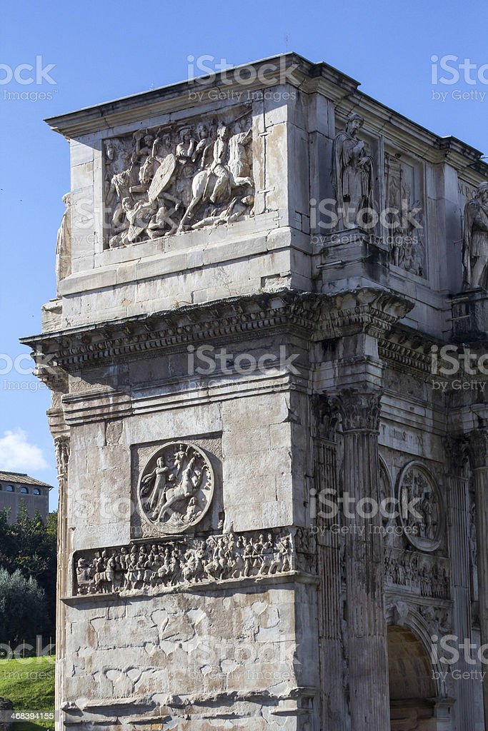 Arch of Titus royalty-free stock photo
