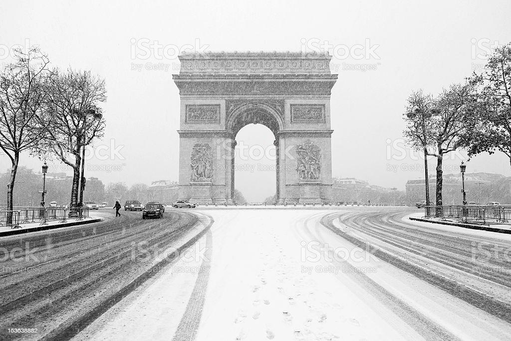Arch of Triumph stock photo