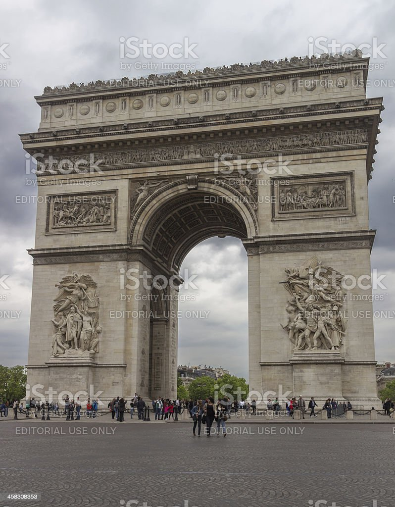 Arch of Triumph stock photo