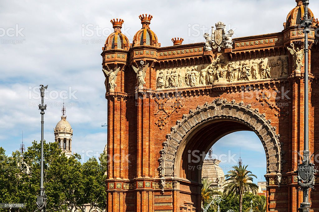 Arch of Triumph royalty-free stock photo