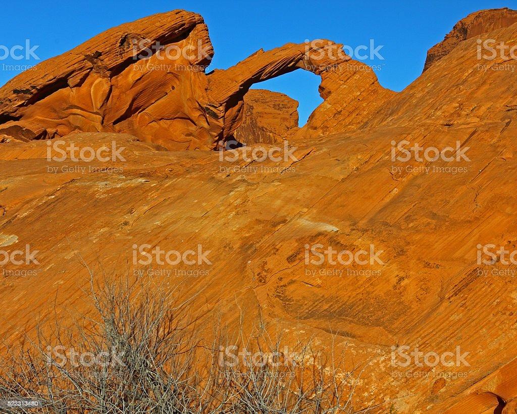 Arch Rock Horizontal Format stock photo