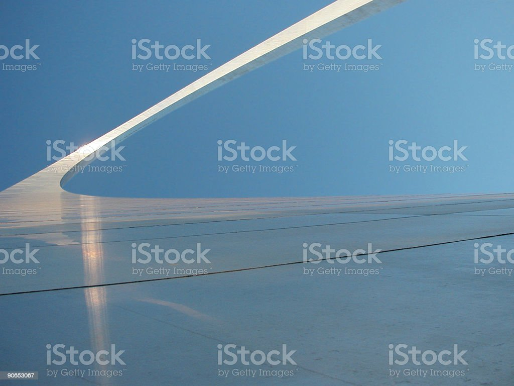 Arch - St. Louis stock photo
