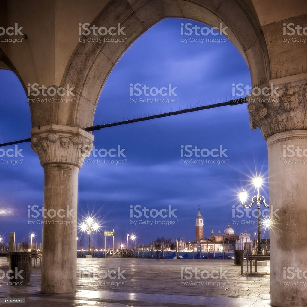 Arch to Lido royalty-free stock photo