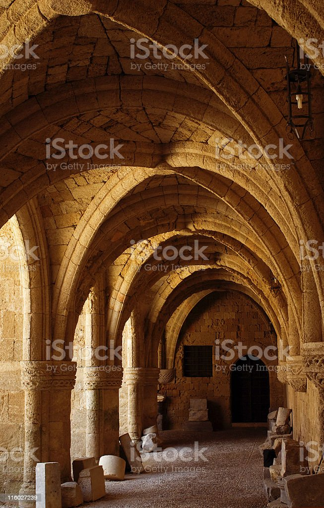 Archaeological museum royalty-free stock photo