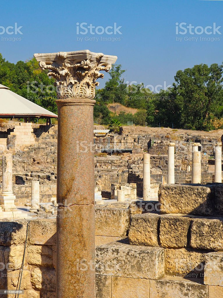 Archaeological Ruins stock photo