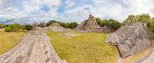 Archaeological site of Edzna , Yucatan Peninsula , Campeche , Mexico , Maya Civilization