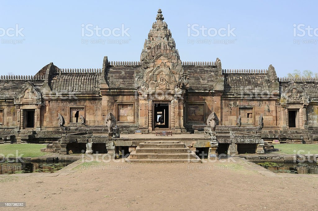 Archaeological site of Phnom Rung royalty-free stock photo