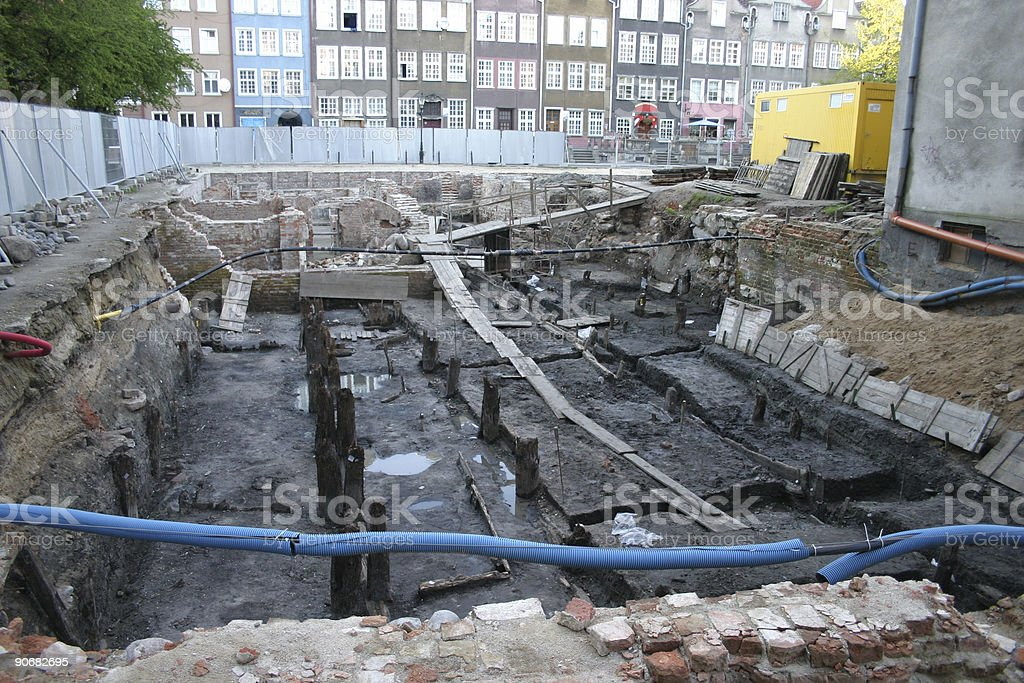 archaeology #2 stock photo