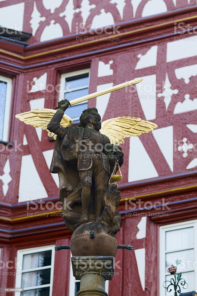 Archangel Michael royalty-free stock photo