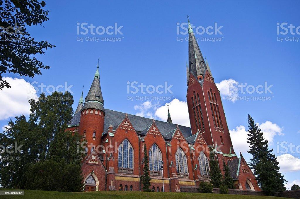 Archangel Michael's church royalty-free stock photo