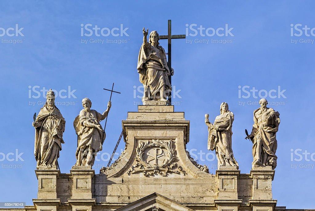 Archbasilica of St. John Lateran, Rome stock photo