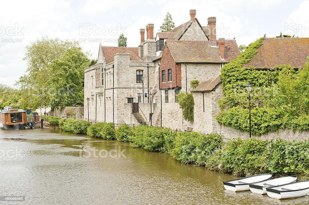 Archbishops Palace, Maidstone, Kent, UK stock photo