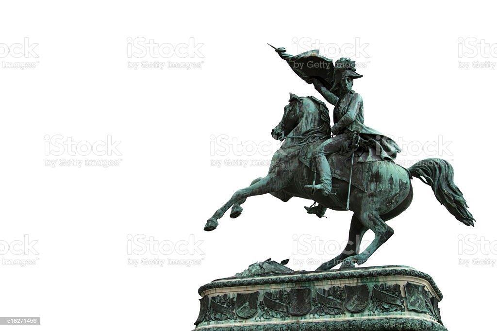 Archduke charles monument stock photo