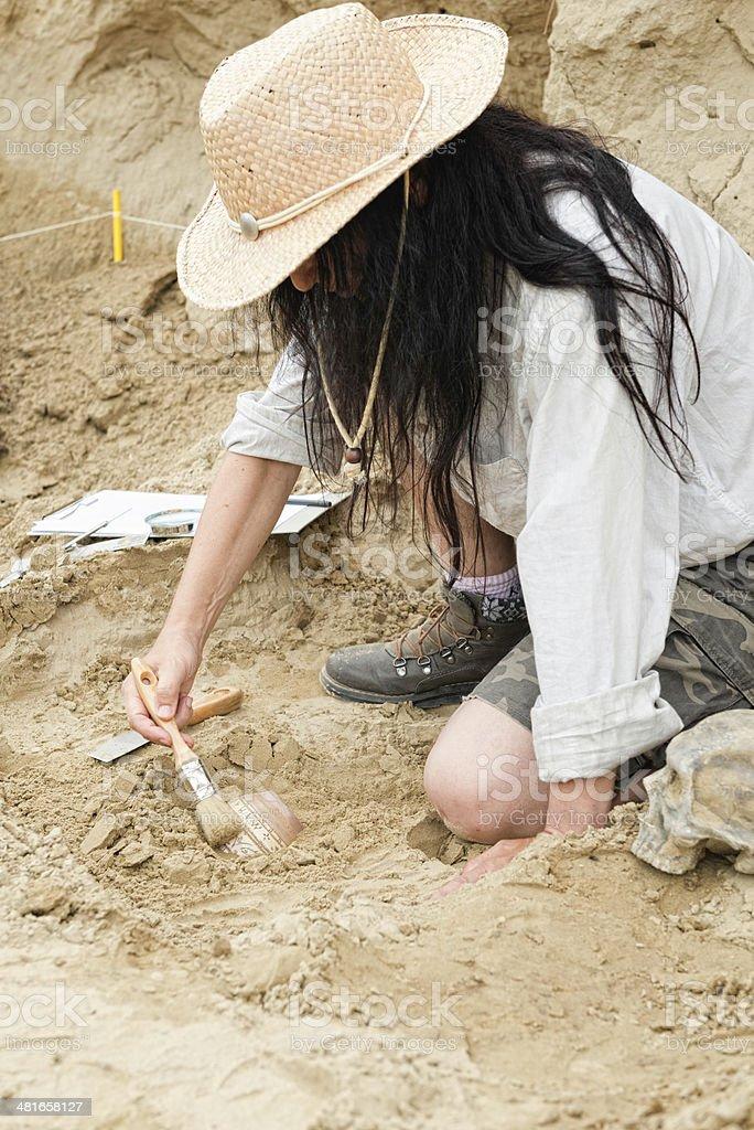 Archeaology stock photo