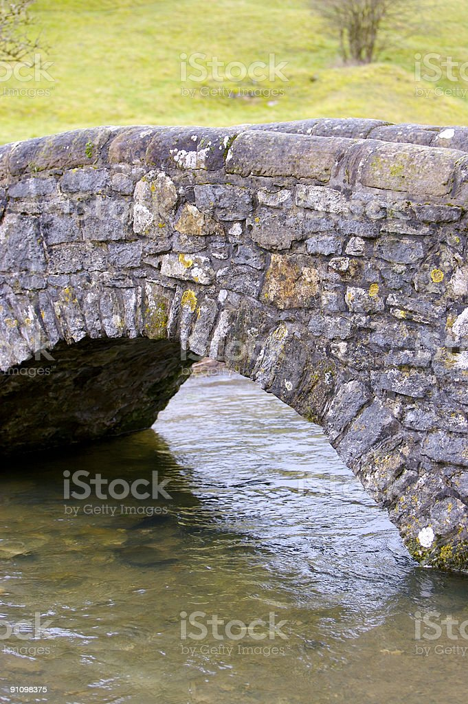Arched Bridge royalty-free stock photo